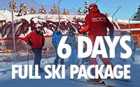 6 days full ski package