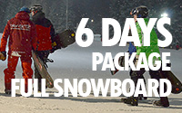 6 days full snowboard package