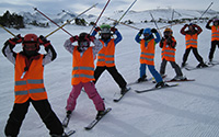 4 hours ski group lessons